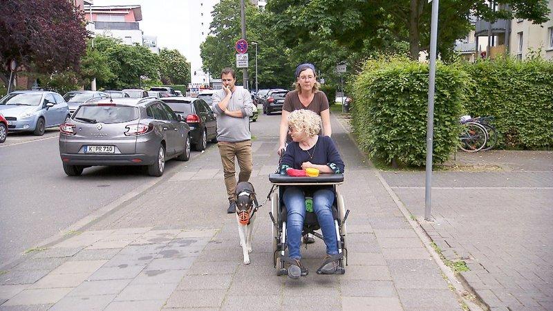 V.l.: Martin Rütter, Corinna und Anama (vorne) Die Verwendung des sendungsbezogenen Materials ist nur mit dem Hinweis und Verlinkung auf TVNOW gestattet. – Bild: TVNOW / Mina Tv