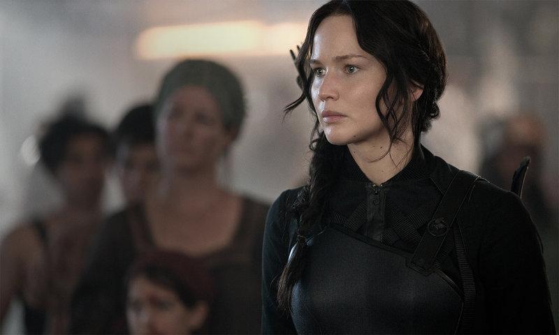 Katniss Everdeen (Jennifer Lawrence) – Bild: ORF