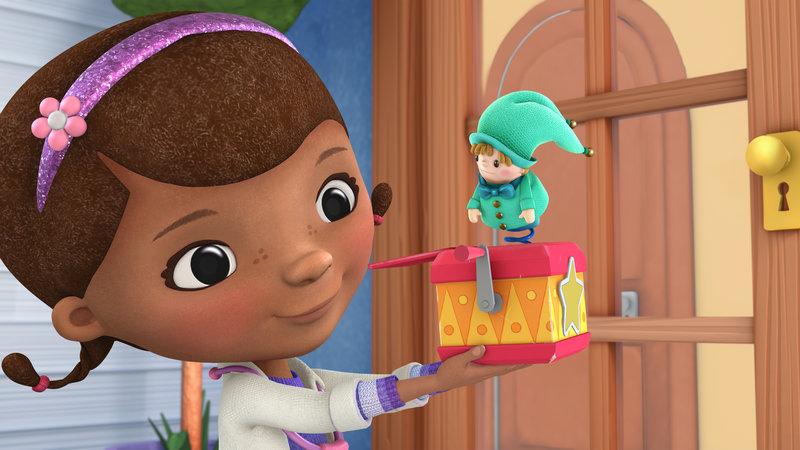 DOC MCSTUFFINS (l.), JACK-IN-THE-BOX – Bild: Disney Media Distribution