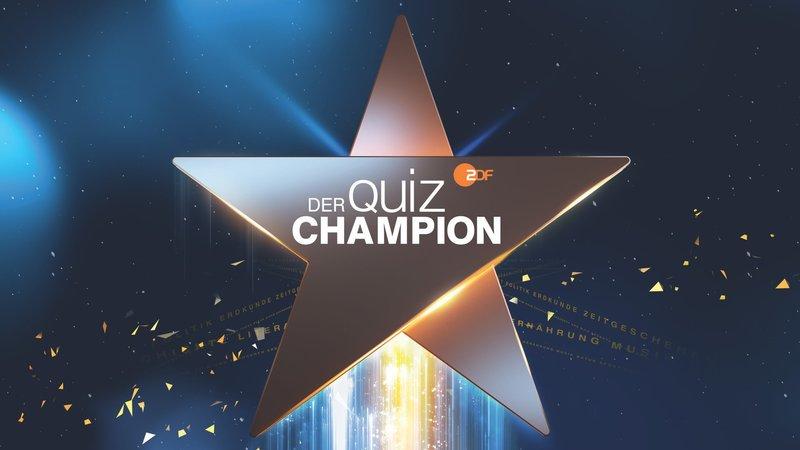 """Logo """"Der Quiz-Champion"""". – Bild: ZDF und Brand New Media."""