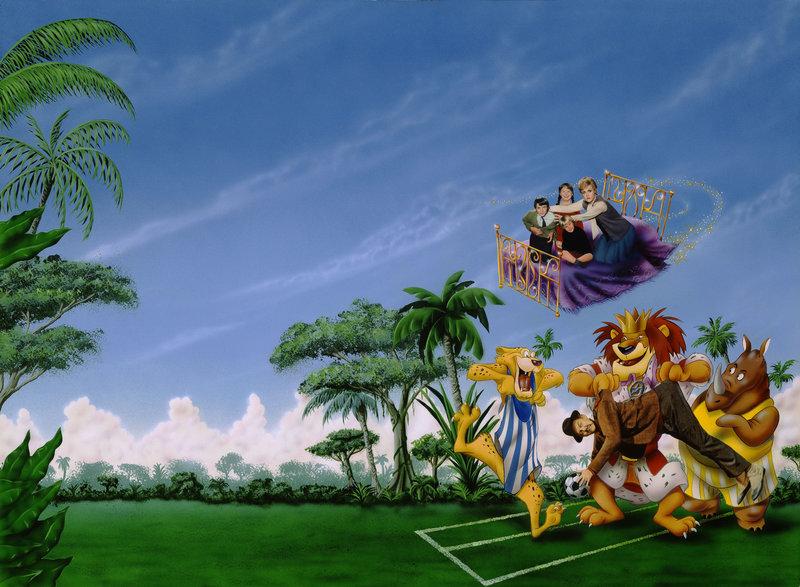 Die tollkühne Hexe in ihrem fliegenden Bett – Bild: Disney © Disney•Pixar © & ™ Lucasfilm LTD © Marvel. Alle Rechte Vorbehalten