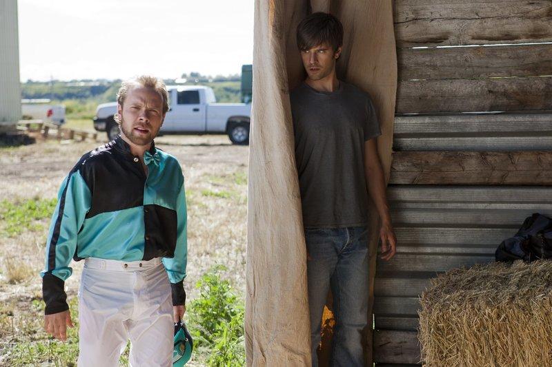 Murphy (David MacInnis, l.); Ty Borden (Graham Wardle, r.) – Bild: Rescued Horse Season Five Inc. Lizenzbild frei