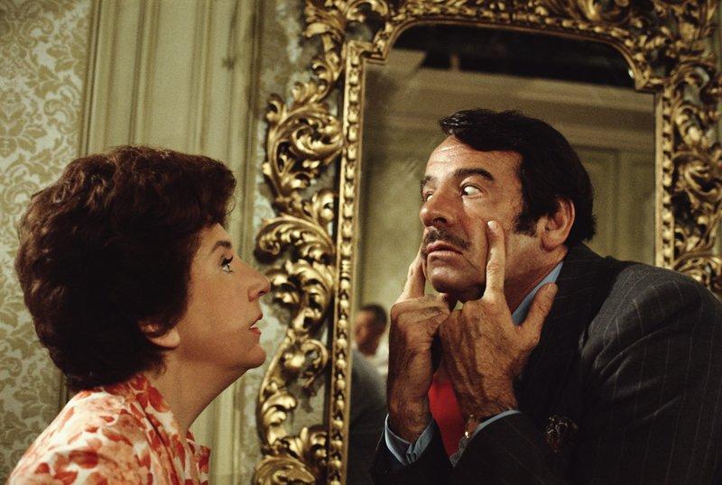 Karen Nash (Maureen Stapleton, l.); Sam Nash (Walter Matthau, r.) – Bild: TM, ® & © 1971 by Paramount Pictures. All Rights Reserved. Lizenzbild frei