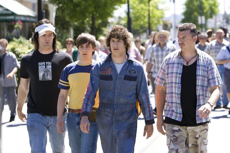 HOT RODavec Andy Samberg, Jorma Taccone, Isla Fisher, Bill Hader – Bild: 2007 Paramount Pictures. All Rights Reserved. Lizenzbild frei