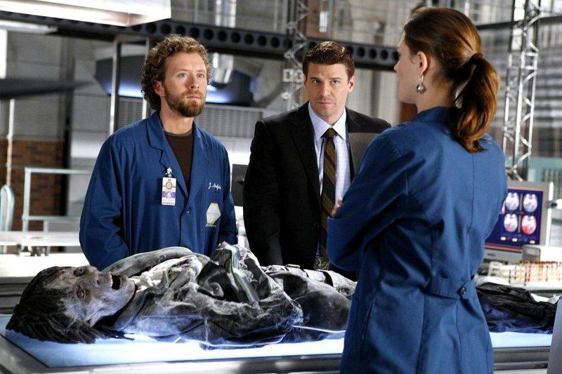 TJ Thyne, David Boreanaz, Emily Deschanel – Bild: Fox TV