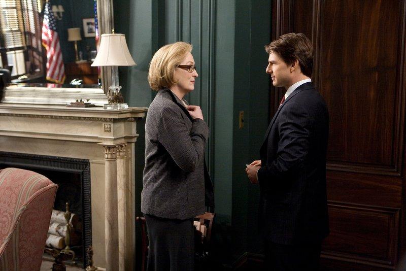 Janine Roth (Meryl Streep), Senator Jasper Irving (Tom Cruise) – Bild: RTL / © 2007 United Artist