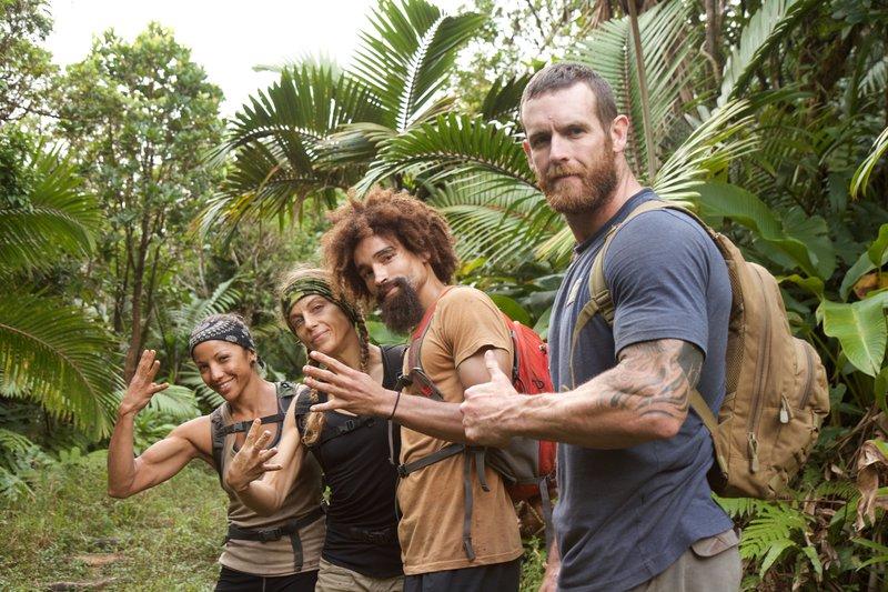 The Final Four: Maria Herrera, Kim Liszka, Jeremy Guarino, and Tim Reames pose for the camera. – Bild: Discovery Communications
