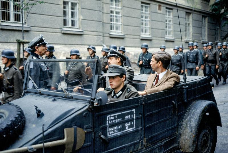 Anton Duschek, Gerhard Dorfer, Volker Kraeft. – Bild: ORF