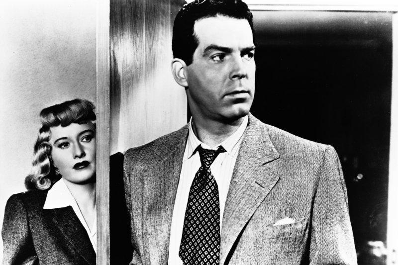 Phyllis (Barbara Stanwyck) und Walter (Fred MacMurray) haben gemeinsam einen Mord begangen, doch gemeinsam enden werden sie nicht ... – Bild: ZDF / © 1944/48 EMKA/NBC Universal
