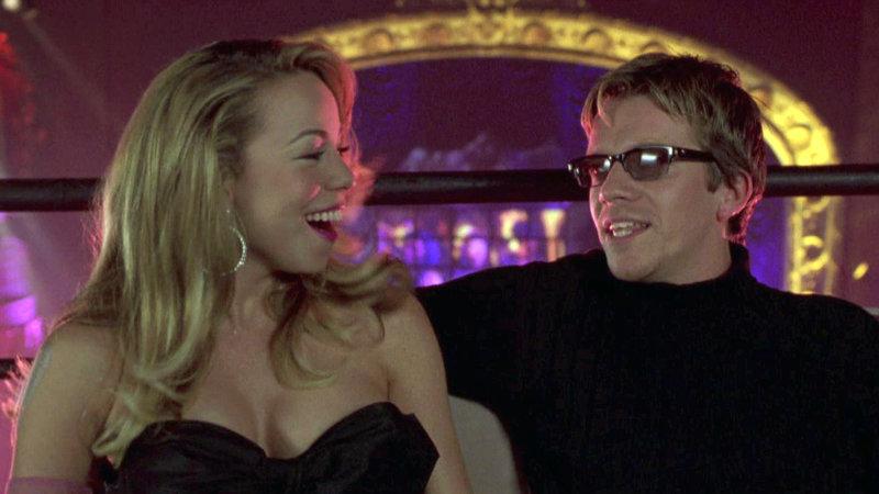 Der angesagte DJ Julian Dice (Max Beesley) will Billie (Mariah Carey) als Solokünstlerin promoten.. – Bild: RTL II