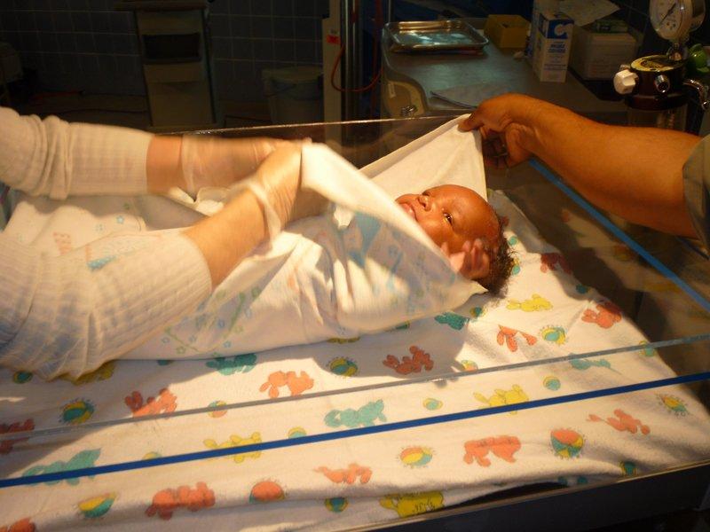 Krankenwagen Geburt
