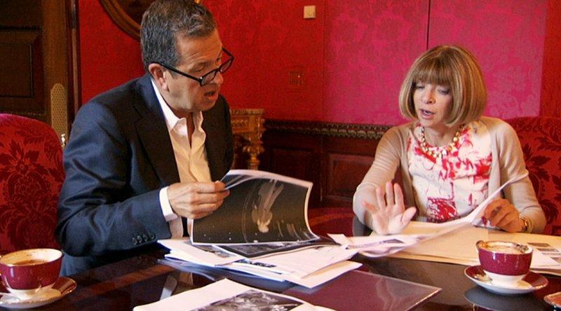 Anna Wintour und der Fotograf Mario Testino – Bild: RTL Living