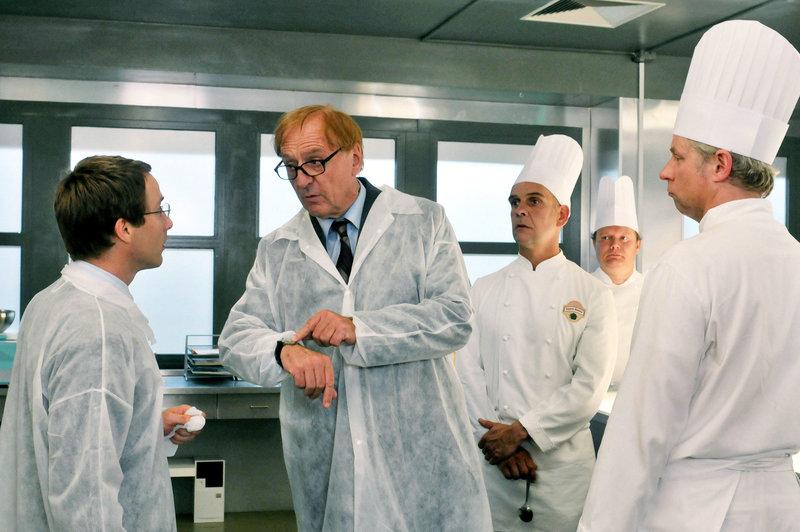 David Rott (Markus Hansen), Günther Maria Halmer (Theo Hansen). – Bild: ORF