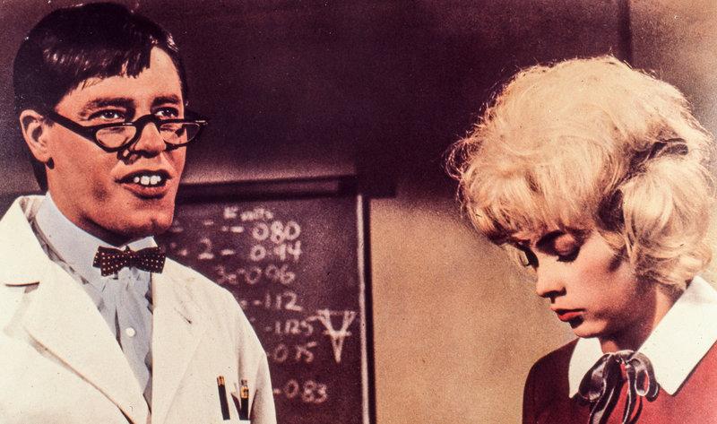 Jerry Lewis, Stella Stevens. – Bild: ORF