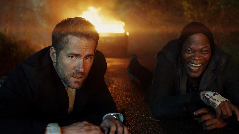 Killer's Bodyguard Ryan Reynolds als Michael Bryce, Samuel L. Jackson als Darius Kincaid. SRF/Summit Entertainment and Millenium Media – Bild: SRF2