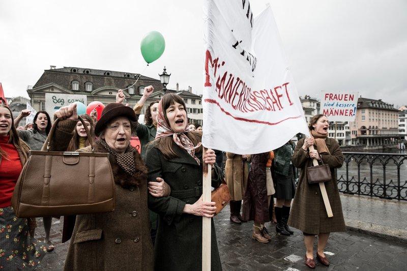 Sibylle Brunner (Vroni), Marie Leuenberger (Nora). – Bild: ORF