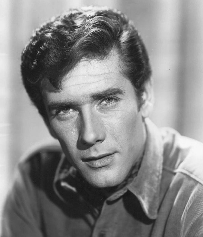 Publicity photo of actor Robert Fuller from the time he was doing the television program Laramie. – Bild: kabel eins Classics