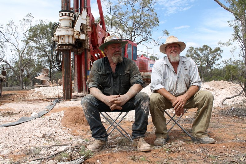 Peter and Mick. – Bild: Discovery Communications