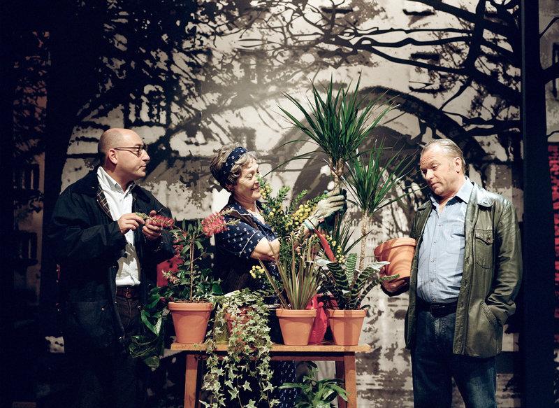 Rudi Roubinek, Dany Sigel, Reinhard Nowak. – Bild: ORF