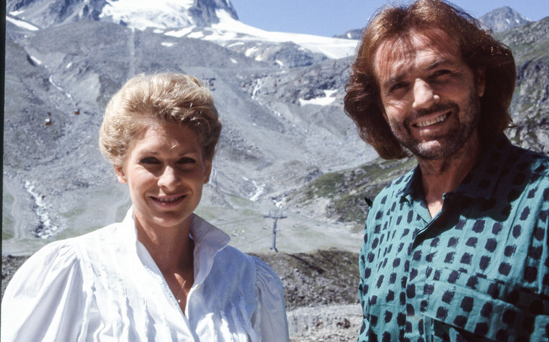 Claudia Robers, Chris Roberts. – Bild: ORF III