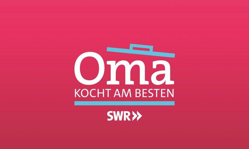 """SÜDWESTRUNDFUNK Oma kocht am besten Logo. © SWR, honorarfrei - Verwendung gemäß der AGB im engen inhaltlichen, redaktionellen Zusammenhang mit genannter SWR-Sendung und bei Nennung """"Bild: SWR"""" (S2). SWR-Presse/Bildkommunikation, Baden-Baden, Tel: 07221/929-26868, foto@swr.de – Bild: SWR / SWR-Presse/Bildkommunikation"""