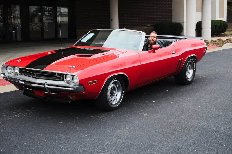 Chris Kubicki, Muscle_Car_Cabrio1 – Bild: Copyright: Discovery Communications, Inc. For Show Promotion Only