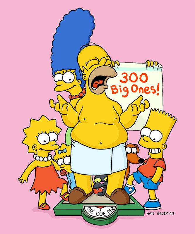(14. Staffel) - Familie Simpson feiert die 300 Episode ... – Bild: ProSieben