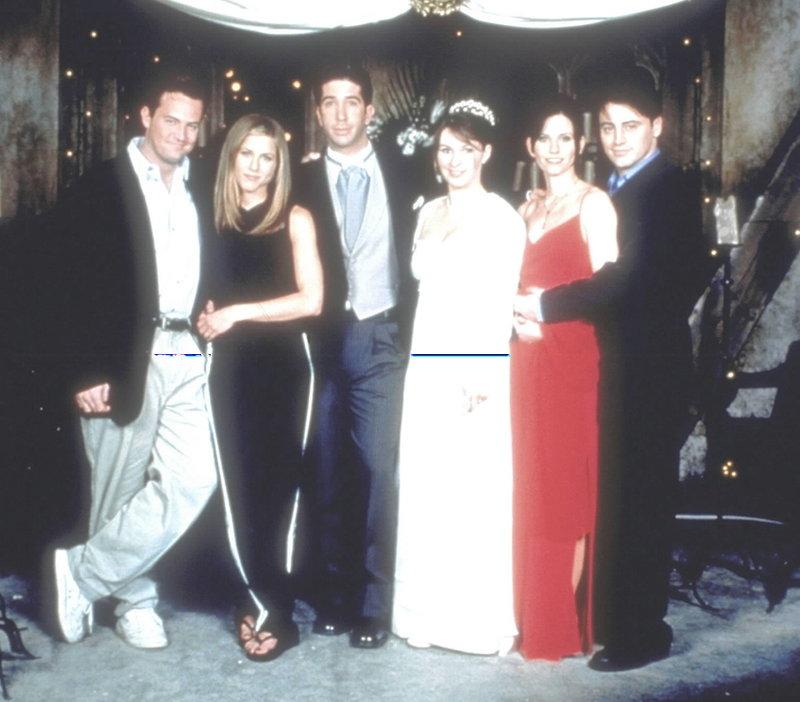 Monica und Chandler haken auf