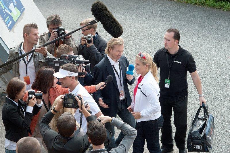 Eva-Maria Grein von Friedl (Anja Haring). – Bild: ORF III