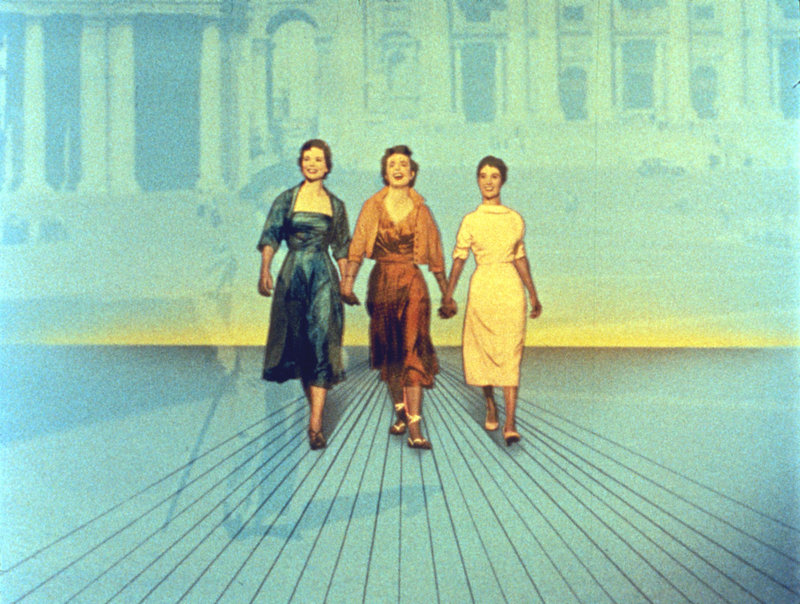 Drei Münzen im Brunnen – Bild: 1954 Twentieth Century Fox Film Corporation. Lizenzbild frei