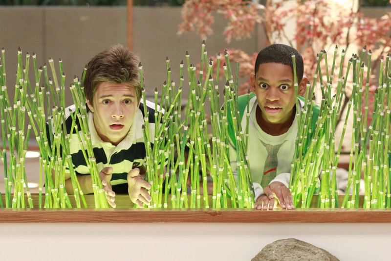 L-R: Chase Davenport (William Brent), Leo Dooley (Tyrel Jackson Williams). – Bild: Ron Tom / DISNEY XD / DISNEY XD / © 2011 Disney Enterprises, Inc. All rights reserved.
