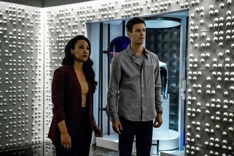 Iris (Candice Patton, l.): Barry (Grant Gustin, r.) – Bild: 2019 The CW Network, LLC. All rights reserved. / Katie Yu Lizenzbild frei