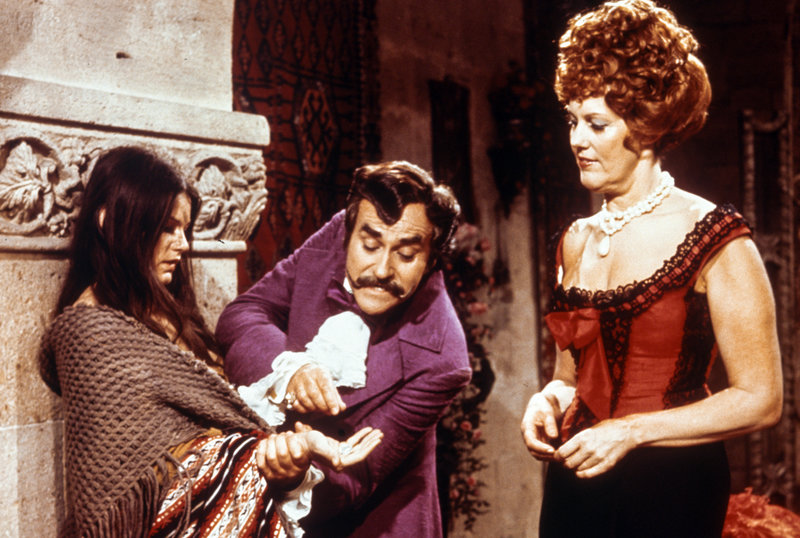 Janet Perry (Zorika), Heinz Friedrich (Dragotin), Colette Lorand (Ilona). – Bild: ORF