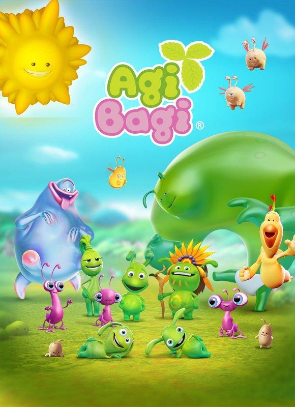 """Poster for """"Agi Bagi"""" – Bild: Fix&Foxi"""
