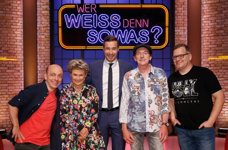 Wer Weiß Denn Sowas S05e28 Gitte Haenning Stefan Zauner