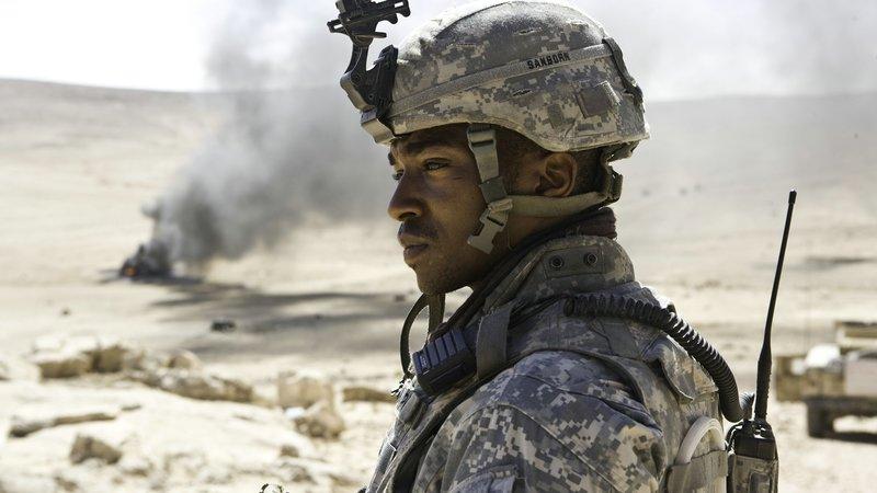 Sergeant JT Sanborn (Anthony Mackie)Sergeant JT Sanborn (Anthony Mackie) – Bild: © 2009 Concorde Filmverleih GmbH