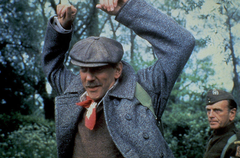 Henry Faber, alias 'Die Nadel' (Donald Sutherland, l.) ist auf der Flucht vor dem britischen Geheimdienst ... – Bild: United Artists Lizenzbild frei