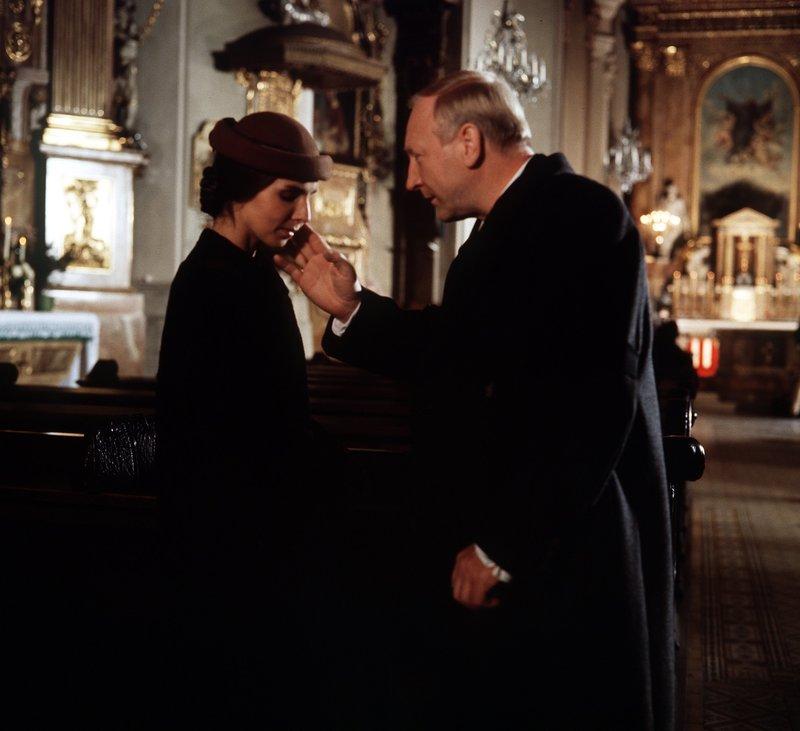 Regina Sattler (Elisabeth), Karl Merkatz (Karl Bockerer). – Bild: ORF 2