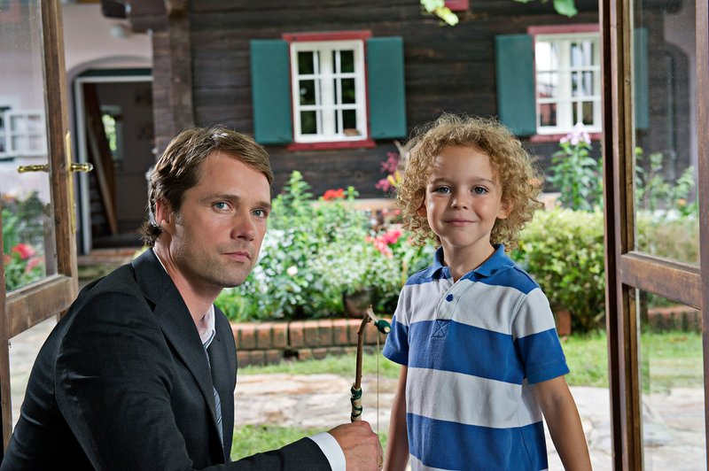 Matthias Schloo (Philip), Felix Staudigl (Jonathan). – Bild: ORF 2