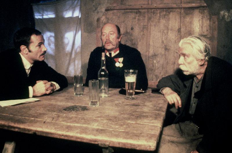 Franco Nero, Anton Dworak, Heinz Moog. – Bild: ORF