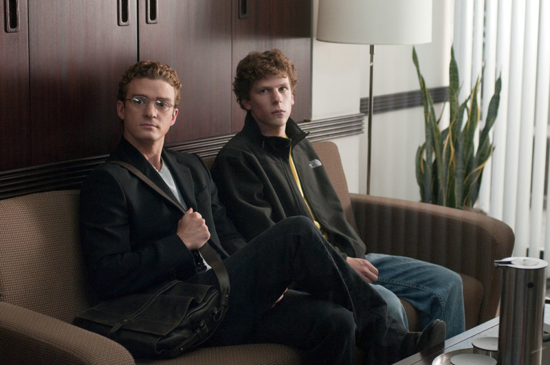 Justin Timberlake, Jesse Eisenberg – Bild: Columbia Pictures Industries, Inc. and Beverly Blvd LLC. All Rights Reserved.