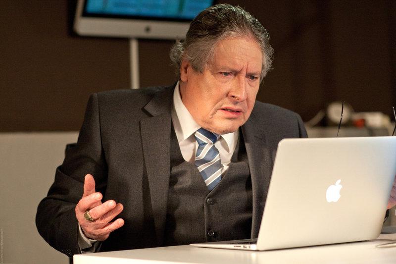 Volker Brandt (Johanson). – Bild: ORF