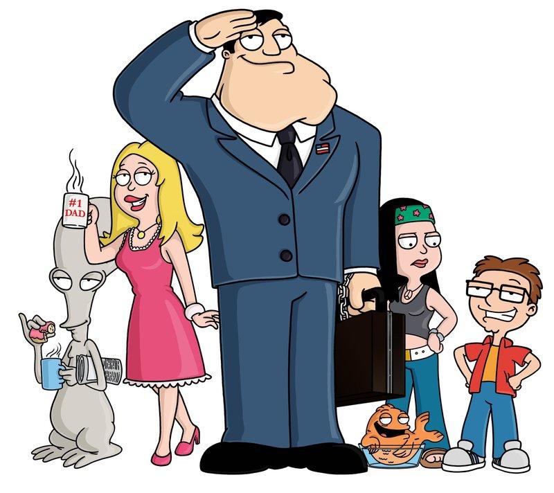 (v.li.) Rodger, Francine, Stan, Klaus, Hayley und Steve – Bild: RTL