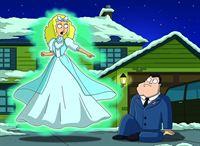 Stan (re.) erscheint eines Nachts ein Geist, der ihm die wahre Bedeutung von Weihnachten vor Augen führen möchte. – © RTL NITRO