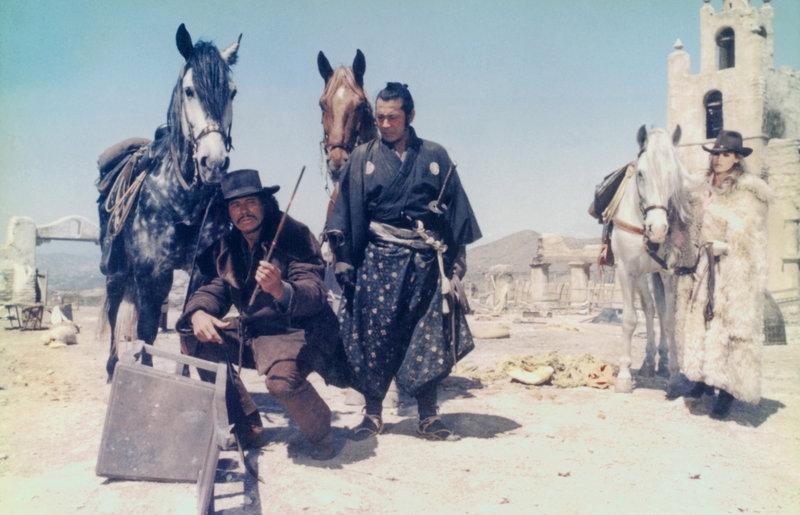Charles Bronson, Toshiro Mifune, Ursula Andress – Bild: KIRCH MEDIA GMBH & CO. KG AA