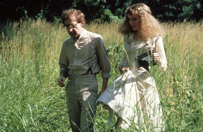Woody Allen (Andrew), Mia Farrow (Ariel). – Bild: ORF
