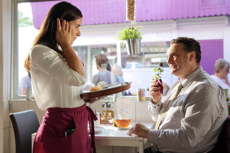 Selen Savas (Alina), Martin Leutgeb (Markus Horvath). – Bild: ORF