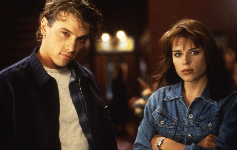 Deputy Riley (David Arquette), Gale Weathers (Courteney Cox) – Bild: TV Puls