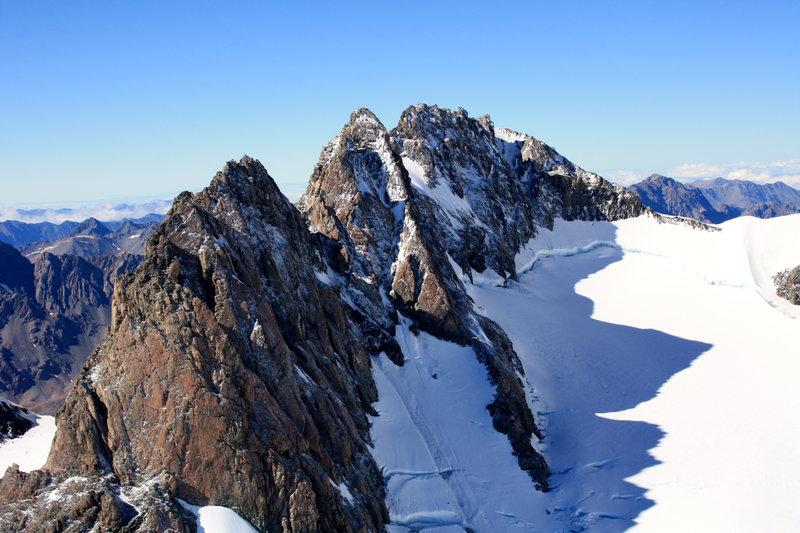 17 Gipfel der neuseeländischen Alpen sind höher als 3.000 Meter. – Bild: ZDF und Kay Siering