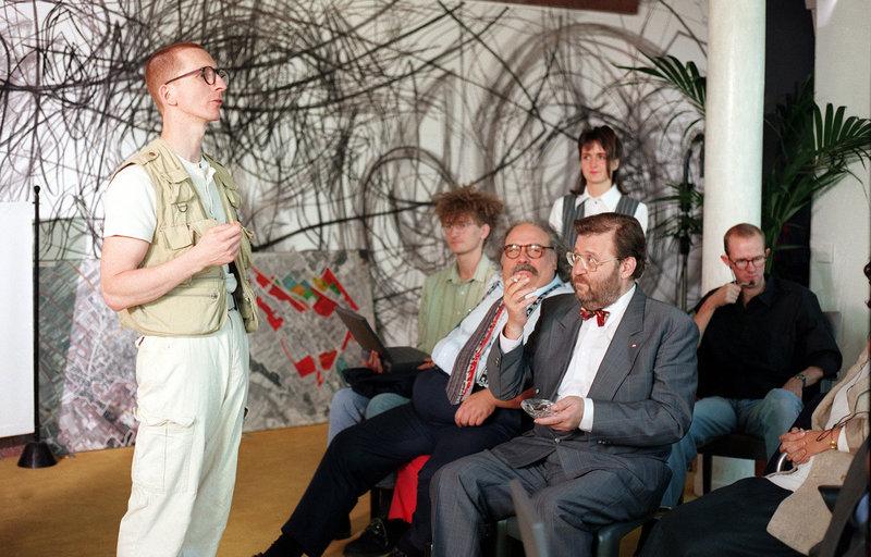 Günther Paal, Rainer Spechtl, Götz Kauffmann. – Bild: ORF2